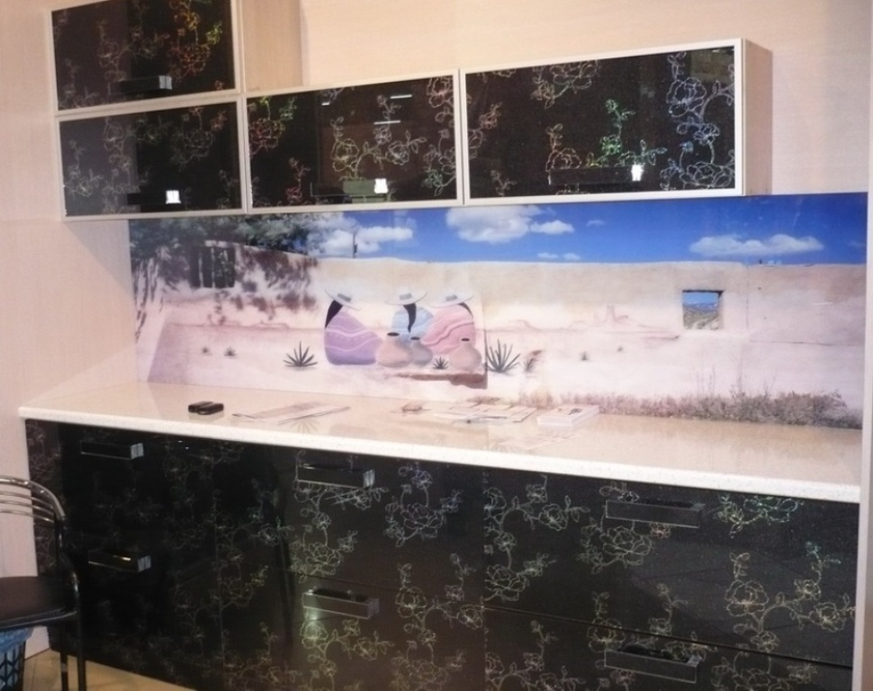 пленка на мебель фото до и после